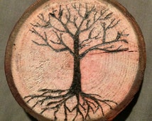 Burned Tree Ring