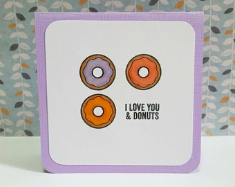 I love You & Donuts