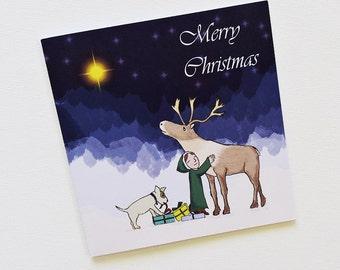 Christmas cards, Set of christmas cards