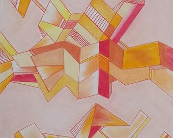modern art original piece