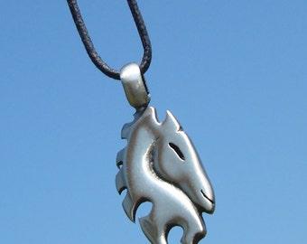 Tribal Horse Head Pendant