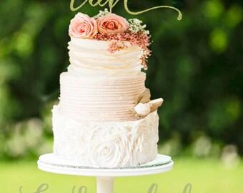 Glitter Love Cake Topper, Glitter Cake Topper, Love Cake Topper, Wedding Cake Love Topper, Wedding Cake Topper