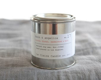 No. 17 Rain & Angelica / soy candle