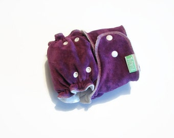 "Bamboo cloth diaper ""Purple Haze"""