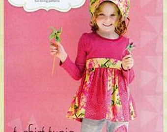 Sweet Seams - T-shirt Tunic - Paper Sewing Pattern for Girls