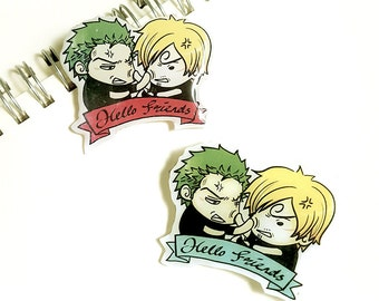 Hello Friends - ZoSan Brooch