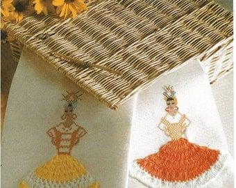 Cross stitch and crochet pattern Crochet Pattern Download towels
