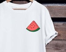 Watermelon T Shirt | Unisex Sizing | 100% Ringspun Cotton