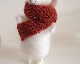 Mrs Pennypot Felted Mouse