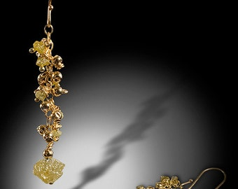Ceres Treasures Earring Cluster Droplets
