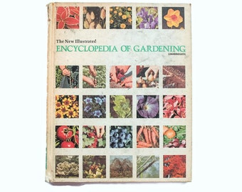 1970s Vintage Book - The Encyclopedia Of Gardening - Hardback
