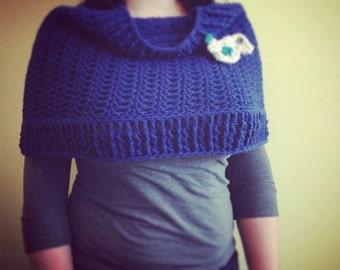 Crocheted Cowl/Shrug