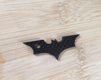 Batman Carbon Fiber Keyring