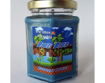 Sonic the Hedgehog - Blue Blur 8oz Soy Candle
