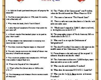 American Trivia Quiz