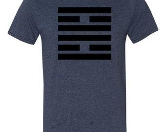 iChing Hexagram 30 Li- The Clinging, Fire T-Shirt, Iching t-shirt, Hexagram t-shirt, Book of Changes, Firefighter tshirt, iching gifts