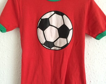 Vintage Kids Football T Shirt - Age 4 years