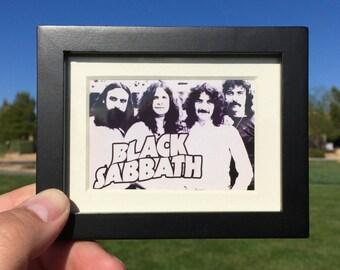 Black Sabbath Poster - Mini Framed Art (FREE S&H)