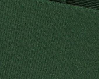 Evergreen Green Grosgrain Ribbon     (05-##-S-035)