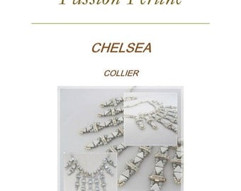 Pattern necklace CHELSEA