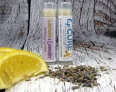 Lemon Lavender Natural Lip Balm with some profits going to cancer research