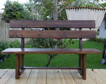 Hardwood Bench Handmade *NEW*