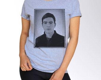 Josh Hartnett T Shirt - Gray - S M L