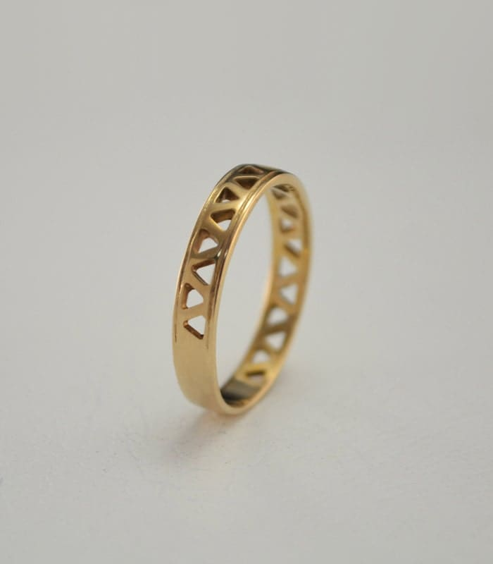 small wedding band classic wedding ring gold by