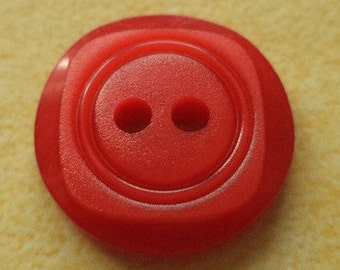 10 buttons 15mm red (4676) button