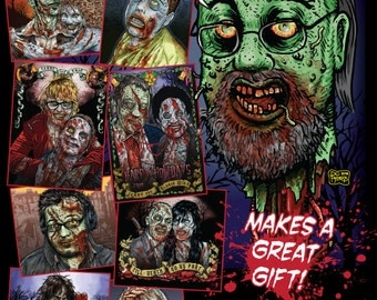 Custom Zombie Portraits made from YOUR photo!