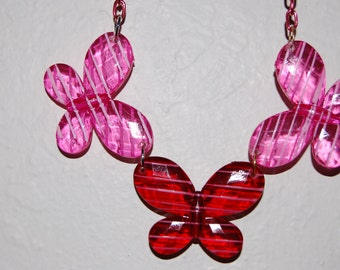 Butterfly Necklace for Young Girl