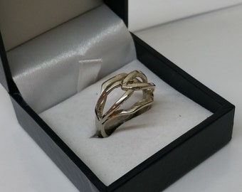 16.8 mm ring silver fashion ring RP108