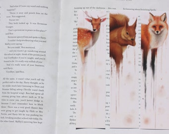 One Forest Animals Bookmark