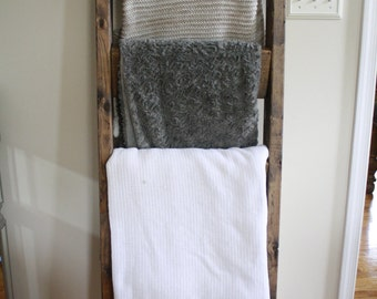 Blanket Ladder, Towel Ladder, Decorative Ladder