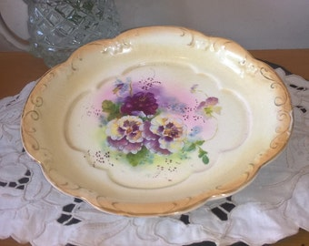 BonBon Candy Small Dish,Antique  Hand painted