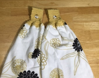 Flower Hanging Towels1
