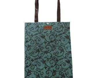 Tote Bag- Market Tote bag-Leather Tote-Printed Tote Bag- Market Bag- Shopping Bag-Large Tote Bag-Handbag-Reusable Tote-Totebag-Grocery Bag
