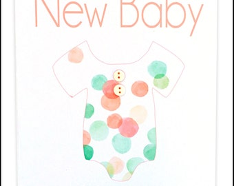 New Baby Greeting Card -  #LNB-189
