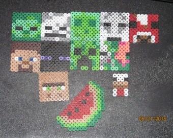 Minecraft perler magnet/pin(PICK 4)