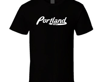 Portland Oregon Vintage Retro Logo T-shirt
