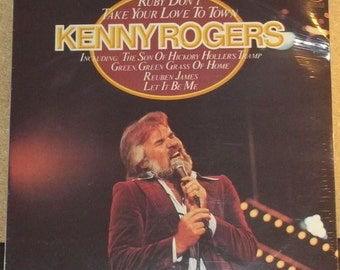 Kenny Rogers Ruby Don't Take Your Love to Town Sealed Record