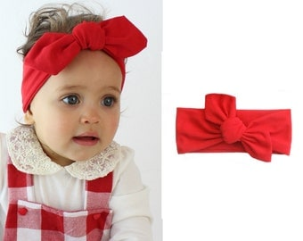 Girl baby headband: gift to the birth, birthday, baptism, Christmas