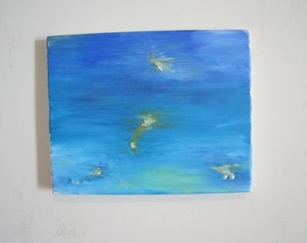 8'' x 10'' Oil on Canvas- Lily pad