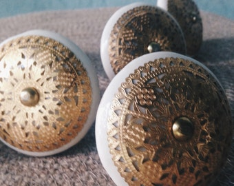 Moroccan Style Dresser Knobs (Set of 6)