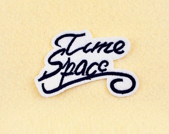 Time Space Patch - Eye patch - Iron on patch -Sew On patch - Embroidered Patch (Size 7.5cm x 5cm)