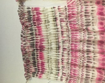 Custom Drapery Romo fabric panels