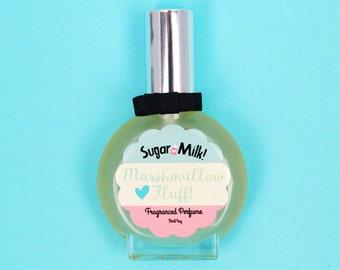 Marshmallow Fluff Perfume / Perfume Oil / Body Mist / Sugar Perfume / Marshmallow Perfume / Handmade Perfume / Natural Perfume