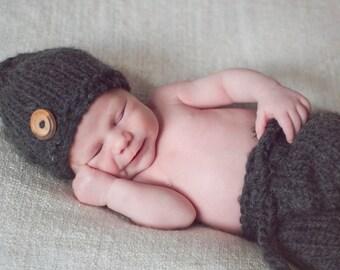 Newborn Hat & Shorts