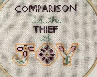 Custom Cross Stitch Quotes