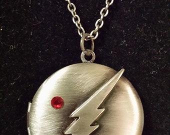 DC Comics The Flash Locket Necklace